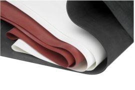 Szilikon lemez ( transzparens - vörös )