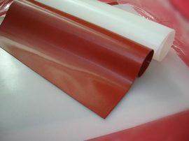 Vörös szilikon lemez